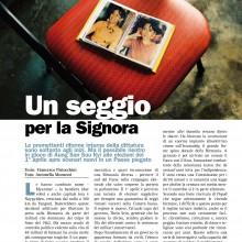 12/03/2012 - BIRMANIA, UN SEGGIO PER LA SIGNORA