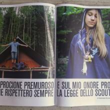 08/09/2018 - Su D La Repubblica pubblicato Erto=Ripido di Paola Fiorini
