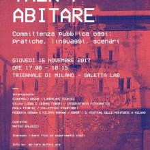 10/11/2017 - TALK/ABITARE