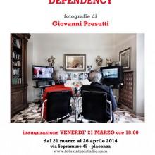 17/03/2014 -  DEPENDENCY  fotografie di Giovanni Presutti a FotoSintesi Studio