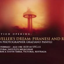 """20/02/2014 - """"A Traveller's Dream: Piranesi and Rome"""" - Istituto Italiano di Cultura Melbourne"""