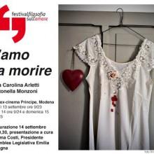 09/09/2013 - Antonella Monzoni, T'amo da morire - Festival di Filosofia di Reggio Emilia