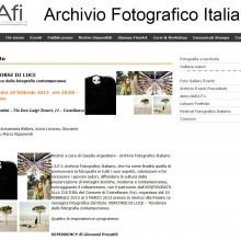 07/02/2013 - Giovanni Presutti in mostra alla Rassegna Fotografica Percorsi di Luce
